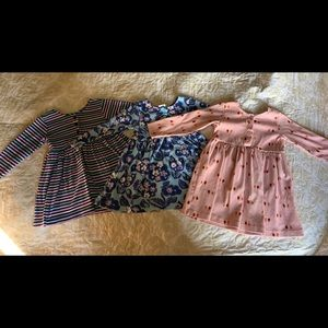 THREE Hanna Andersson play dresses